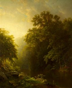 On The Wissahickon William Trost Rchards