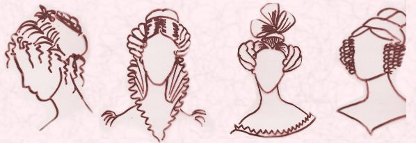 basic hair styles era hairstyles for 1840